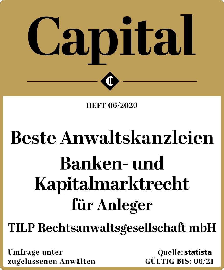 Capital_KanzleienDE2020_TILPRechtsanwaltsgesellschaftmbH_BankenuKapitalmarktRecht